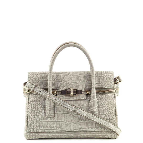 c9b538af606b Max Mara Sage Green Mock Croc Calfskin Margaux Bag - LOVE that BAG - Preowned  Authentic