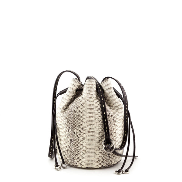 5904ba245fef MCM Navy Visetos Dieter Backpack  342.00 USD. Michael Kors Collection Gray  Python Small Julie Crossbody - LOVE that BAG - Preowned Authentic Designer