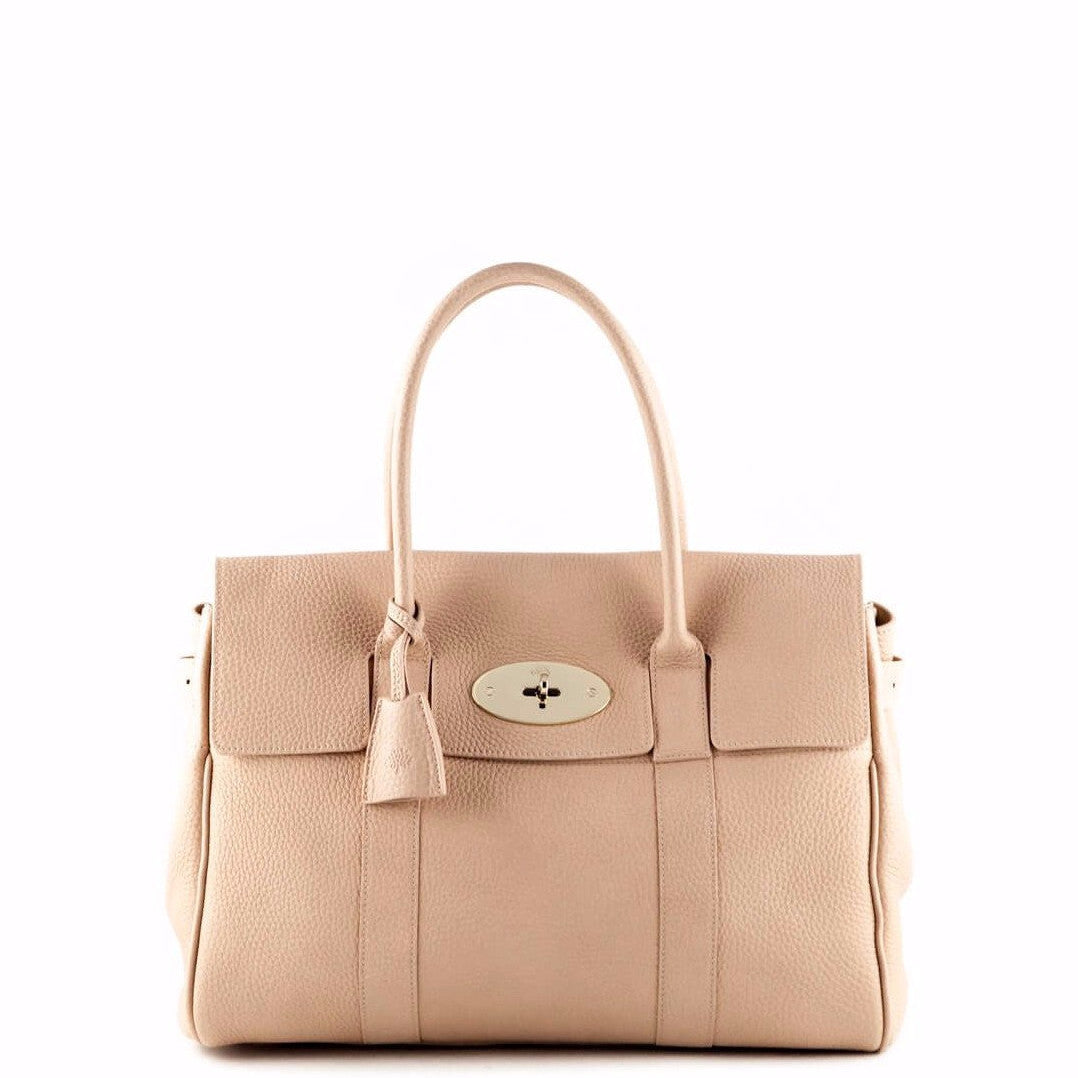 75742c401e Mulberry Ballet Pink Grain Bayswater Satchel - LOVE that BAG - Preowned  Authentic Designer Handbags ...