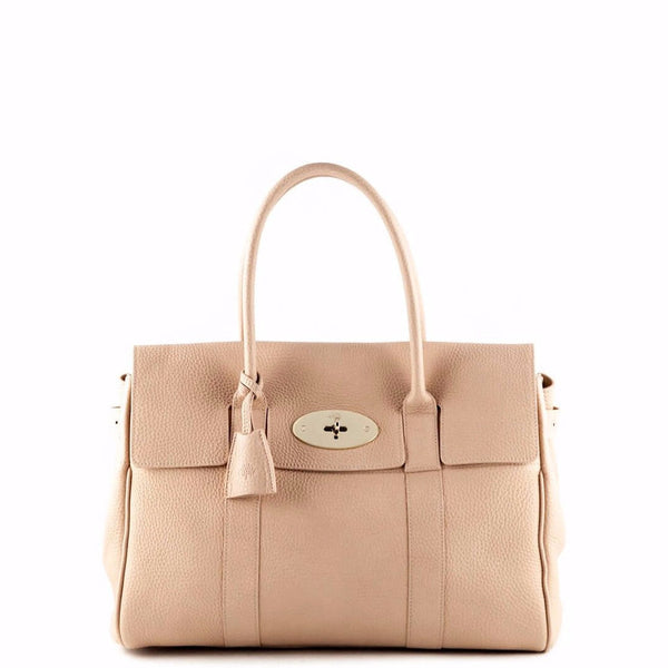 2fe16dd06a Mulberry Ballet Pink Grain Bayswater Satchel - LOVE that BAG - Preowned Authentic  Designer Handbags