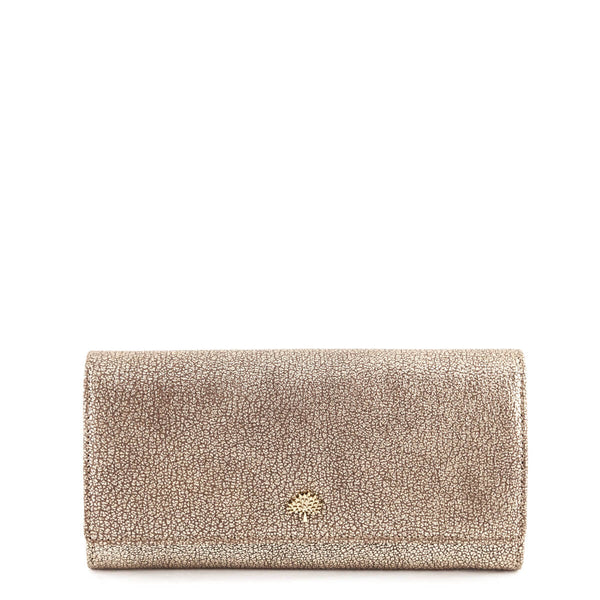 e9bc06a232 Mulberry Metallic Mushroom Goatskin Tree Continental Wallet - LOVE that BAG  - Preowned Authentic Designer Handbags