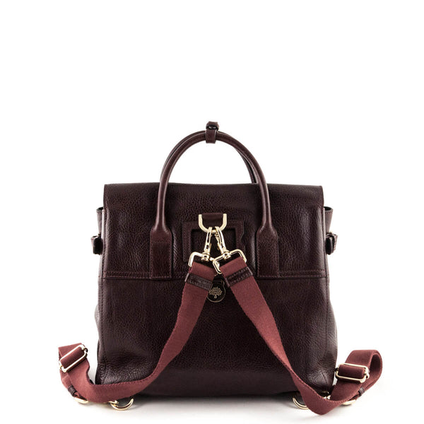 e79db31035 Mulberry Oxblood Cara Delevingne Convertible Backpack - Preloved Bags