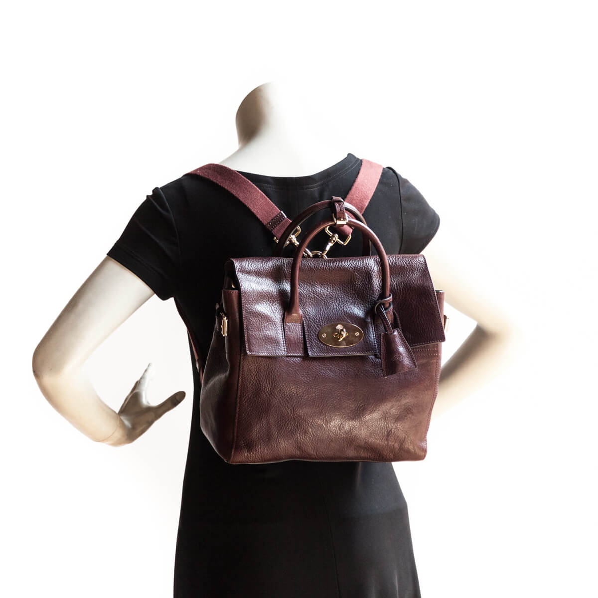 a3c82f76d8 ... Mulberry Oxblood Cara Delevingne Convertible Backpack - LOVE that BAG -  Preowned Authentic Designer Handbags