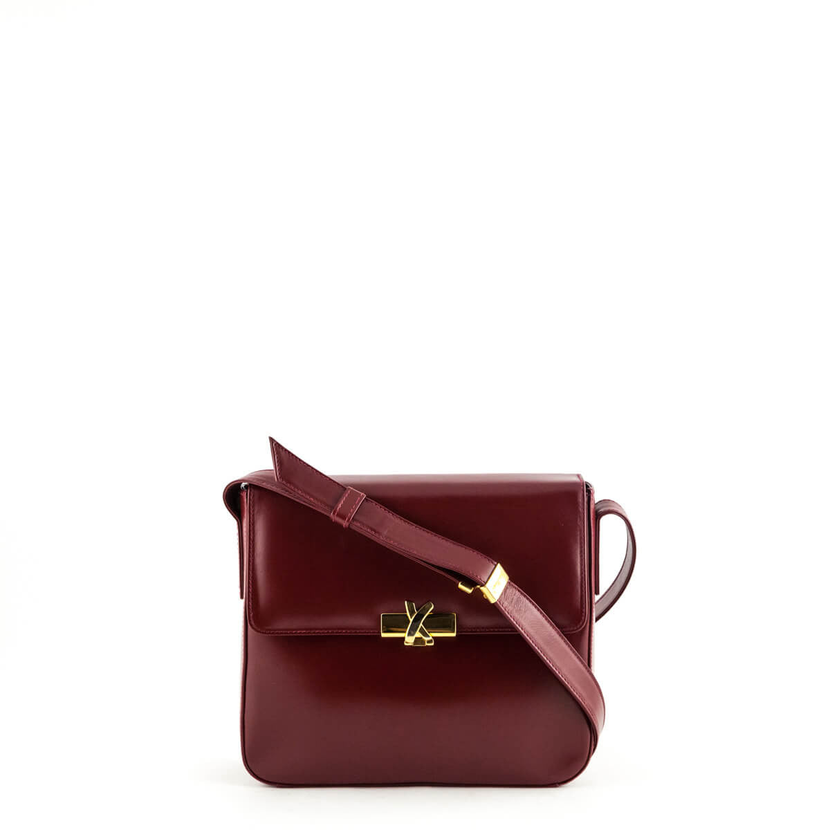 3380781a1 Paloma Picasso Cranberry Structured Square Bag - LOVE that BAG - Preowned  Authentic Designer Handbags ...