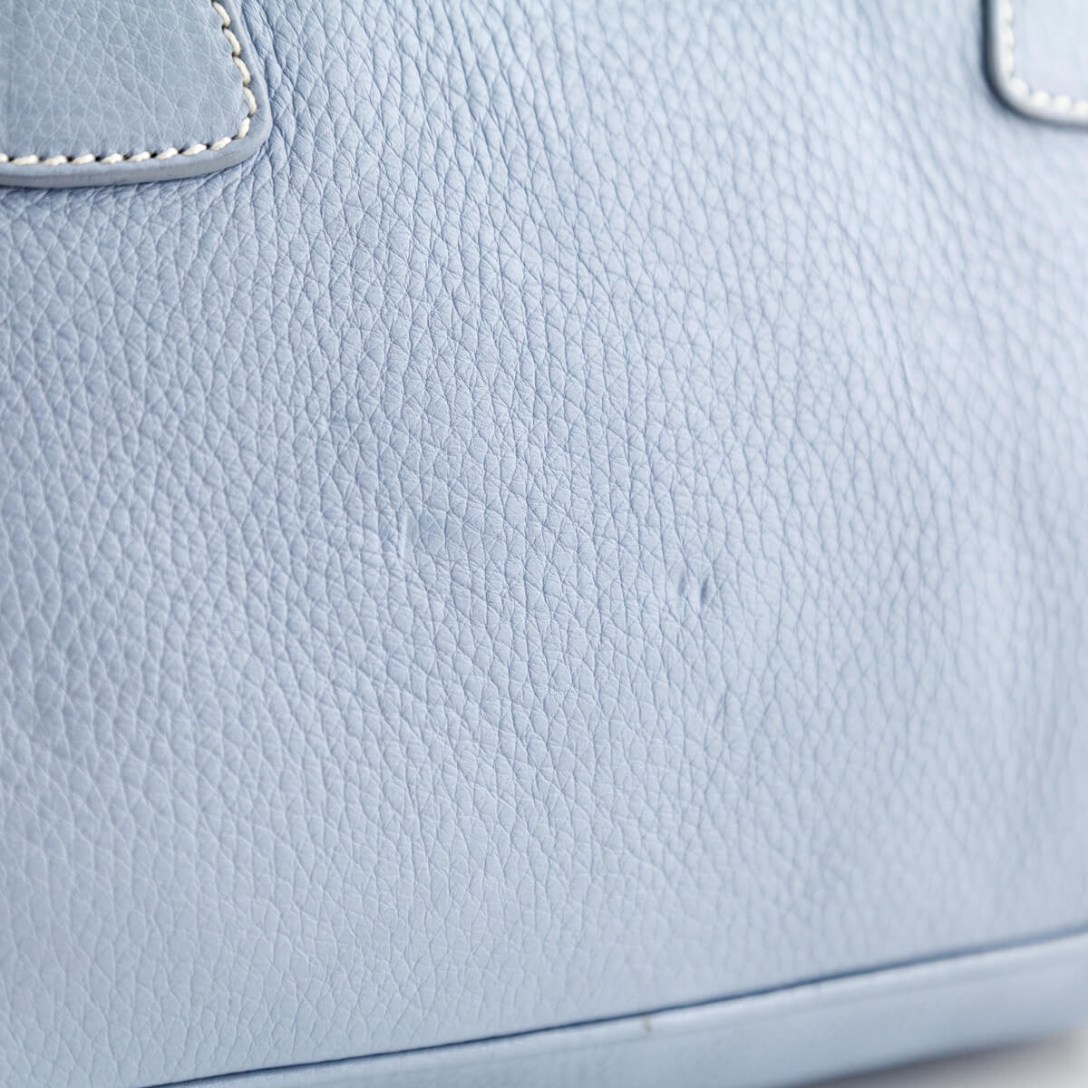 a5e7bef29c3c ... where can i buy prada baby blue cervo small bowler bag love that bag  preowned authentic