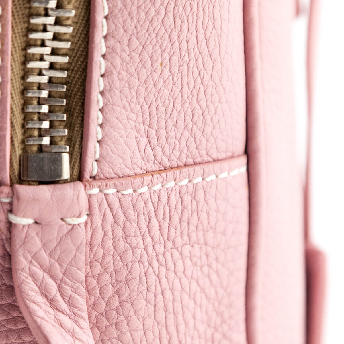 8a632c5290f7 ... Prada Baby Pink Cervo Small Bowler Bag - LOVE that BAG - Preowned  Authentic Designer Handbags ...