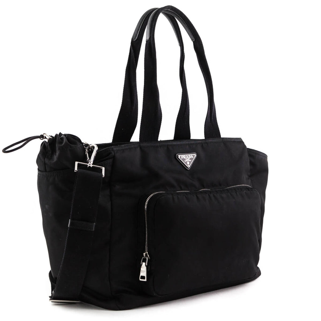 ... Prada Black Nylon Baby Bag - LOVE that BAG - Preowned Authentic  Designer Handbags ... 7ee69d39b96b