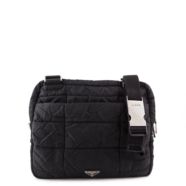 Prada Black Quilted Nylon bag - Authentic Prada Bags 9aec5d6351f5