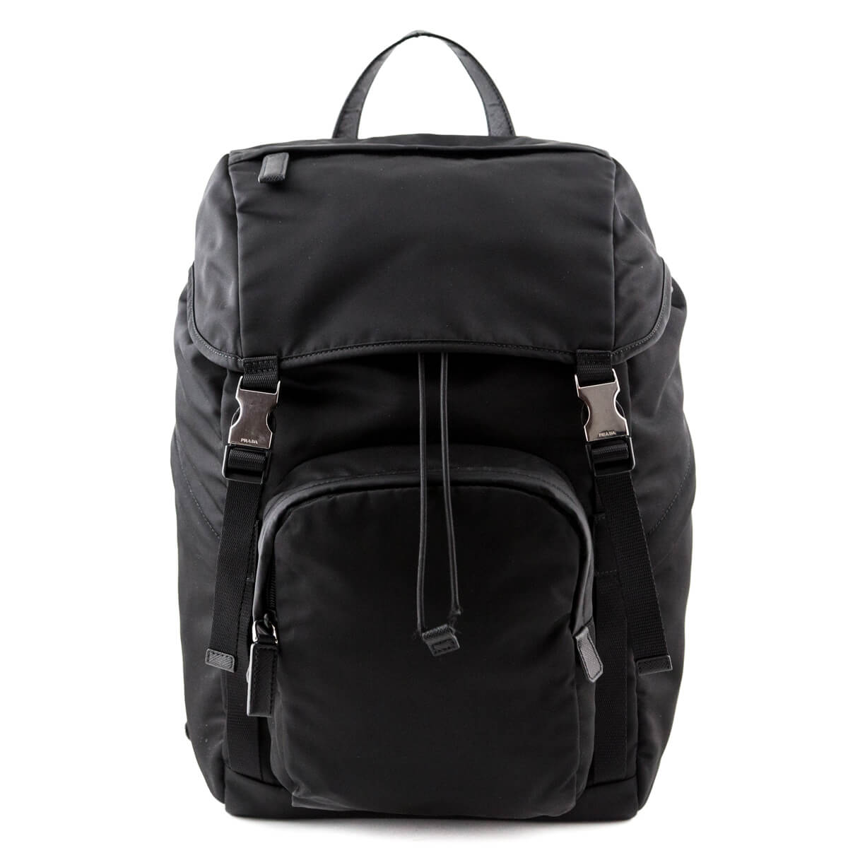 92fd23ee3ec0 Prada Men s Technical Fabric Double-Buckle Backpack - LOVE that BAG -  Preowned Authentic Designer ...
