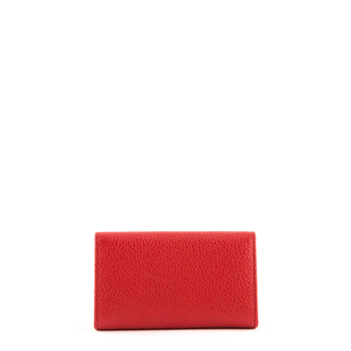 d64bedaa7bdd00 ... Prada Red Vitello Grain Key Holder - LOVE that BAG - Preowned Authentic  Designer Handbags ...