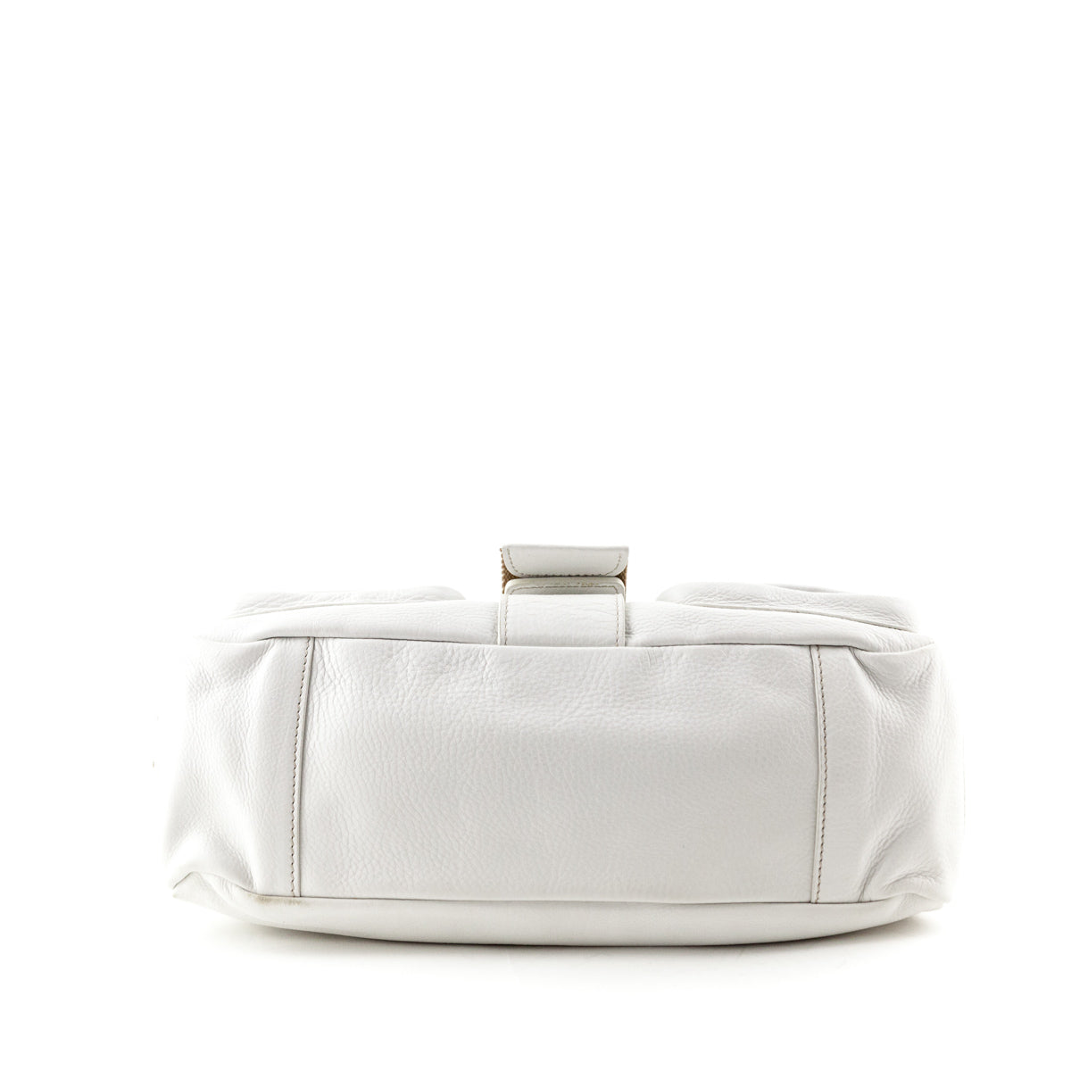 55c82bf34d ... promo code for prada white leather shoulder bag love that bag preowned  authentic designer handbags 8a836
