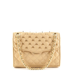 Rebecca Minkoff Peach Mini Studded Affair - 1