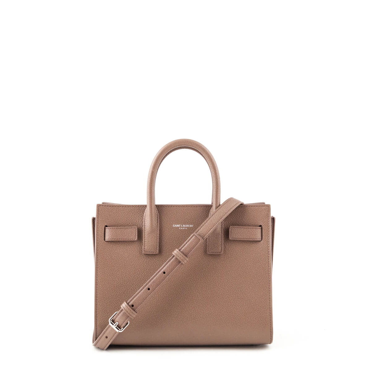 3ef885698069 Saint Laurent Rose Grained Calfskin Nano Sac de Jour Tote - LOVE that BAG -  Preowned ...
