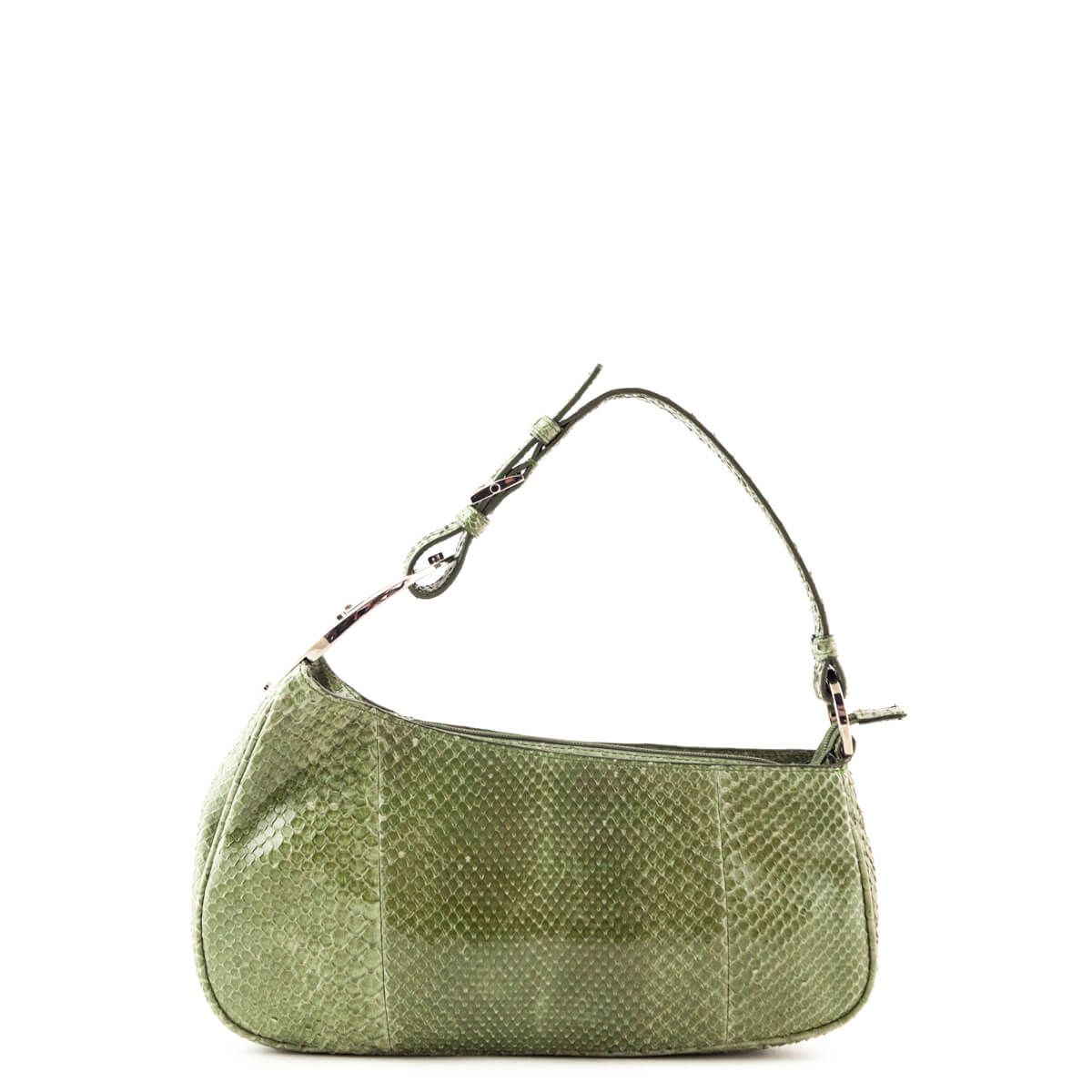 Sergio Rossi Green Snakeskin Shoulder Bag - LOVE that BAG - Preowned  Authentic Designer Handbags ... dc22db7ac21c9