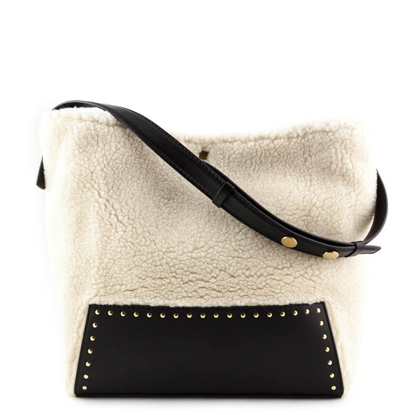 8d4285a0bf6d Stella McCartney Faux Shearling Hobo Bag - LOVE that BAG - Preowned  Authentic Designer Handbags