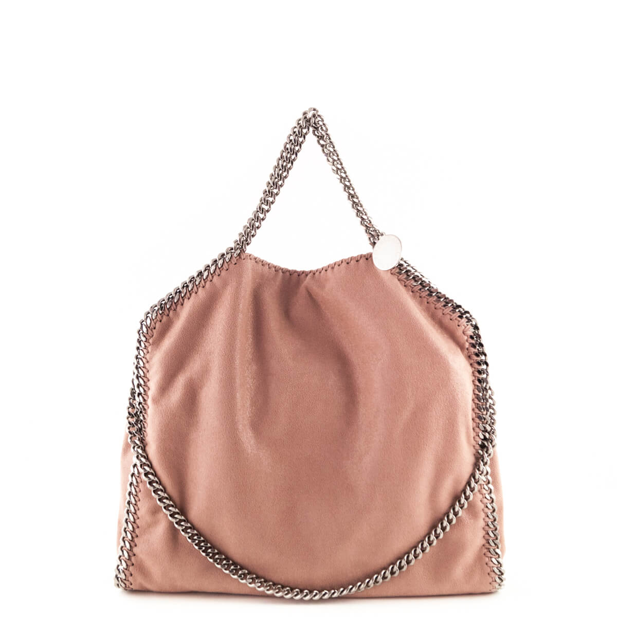ad7e3a9086f3 Stella McCartney Rose Shaggy Deer Medium Falabella Fold-Over Tote - LOVE  that BAG ...