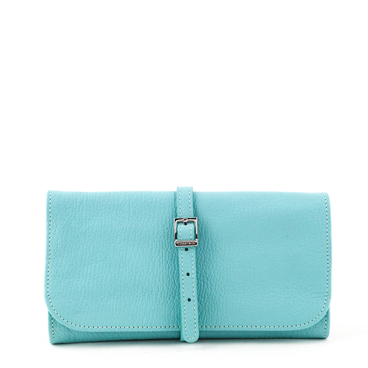 9af641fc16e Tiffany   Co. Turquoise Travel Jewelry Roll - LOVE that BAG - Preowned  Authentic Designer ...