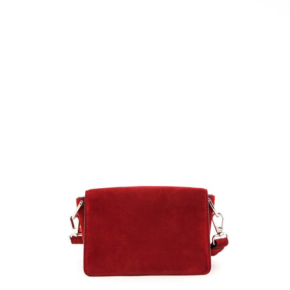 eaa57ce4c2 ... Tod's Red Suede Mini Double T Crossbody Bag - LOVE that BAG - Preowned  Authentic Designer ...
