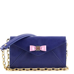Tory Burch Blue Nile Envelope Wallet on Chain - 1