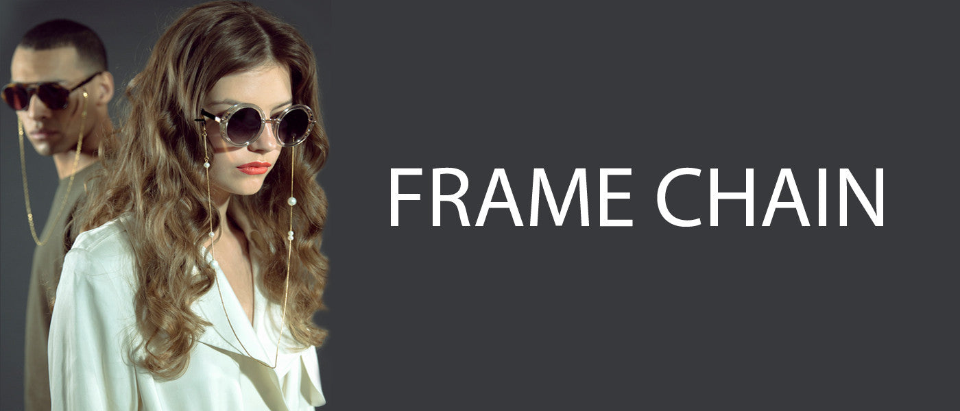 FRAME CHAIN Luxury Glasses Chains.  For sun and reading glasses.  Can also be worn as a chain.