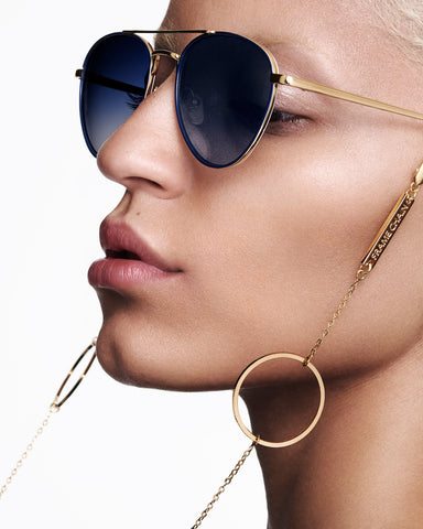 FRAME CHAIN - LOOP DE LOOP in YELLOW GOLD - Glasses chain