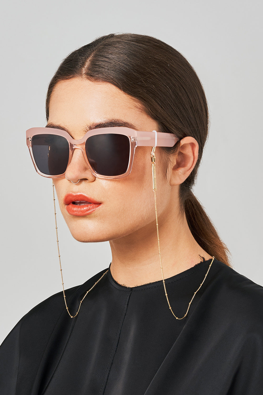 FRAME CHAIN | DOTTY in YELLOW GOLD | Glasses Chains | Eyewear Chains