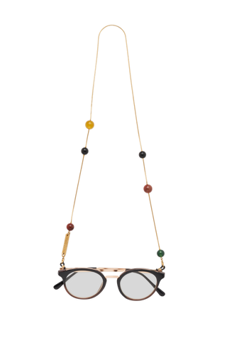 FRAME CHAIN | GOBSTOPPER in YELLOW GOLD | Glasses Chains | Eyewear Chains