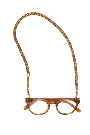 FRAME CHAIN | CHUNKY MONKEY in YELLOW GOLD | Glasses Chains | Eyewear Chains