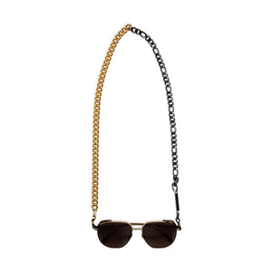 MIX IT UP in BLACK and YELLOW GOLD - FRAME CHAIN