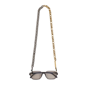 MIX IT UP in YELLOW and WHITE GOLD - FRAME CHAIN