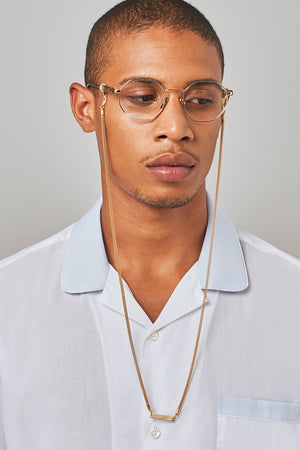 FRAME CHAIN | MATTE in YELLOW GOLD | Glasses Chains | Eyewear Chains