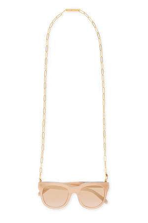 RHONDA in YELLOW GOLD - FRAME CHAIN