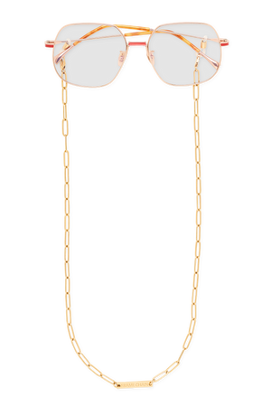 FRAME CHAIN | RONNIE in YELLOW GOLD | Glasses Chains | Eyewear Chains