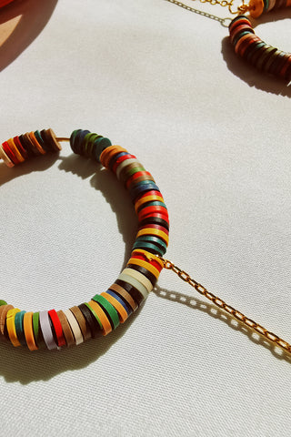CANDY POP MUD in YELLOW GOLD - FRAME CHAIN