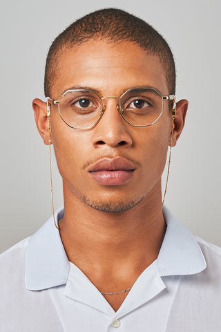 FRAME CHAIN | CHIP in WHITE GOLD | Glasses Chains | Eyewear Chains