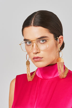 FRAME CHAIN | CLEOPATRA in YELLOW GOLD | Glasses Chains | Eyewear Chains