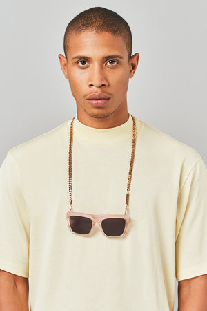 DIAMOND GEEZER in ROSE GOLD - FRAME CHAIN
