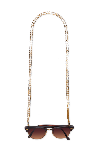 FULL FIGARO in YELLOW GOLD - FRAME CHAIN