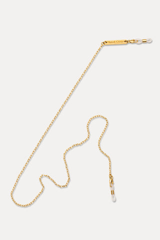 FRAME CHAIN | PULL MY CHAIN in YELLOW GOLD | Glasses Chains | Eyewear Chains
