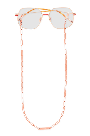 FRAME CHAIN | RONNIE in ROSE GOLD | Glasses Chains | Eyewear Chains