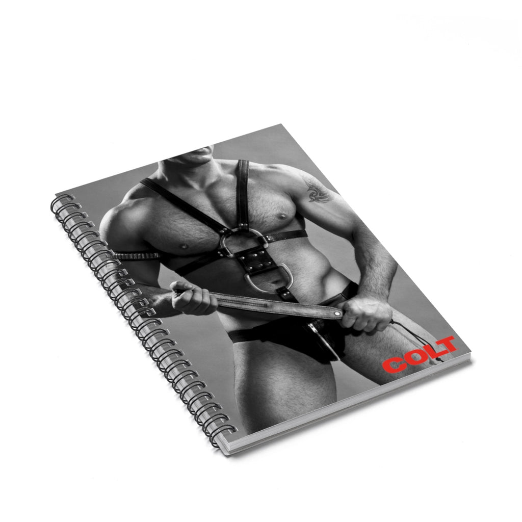 COLT Leather Spiral Notebook