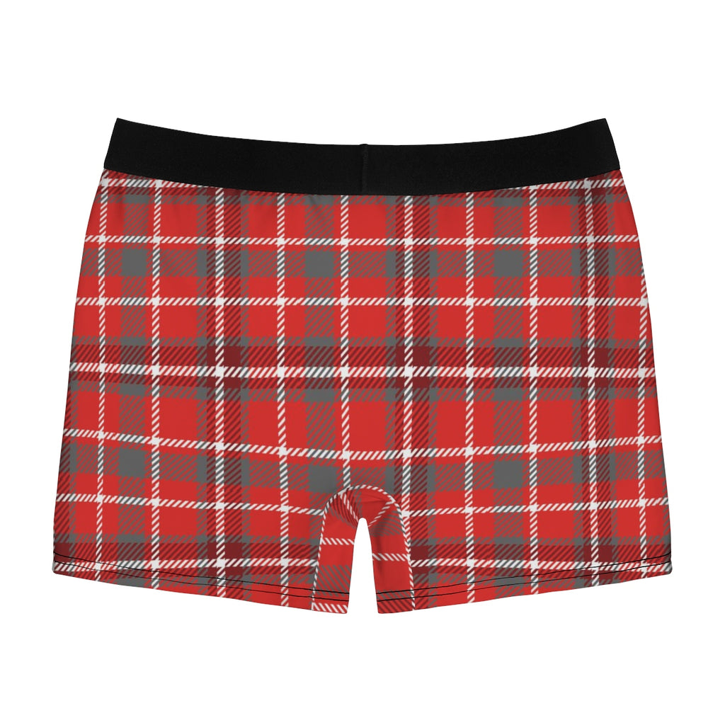COLT Logo Red Plaid Boxer Briefs