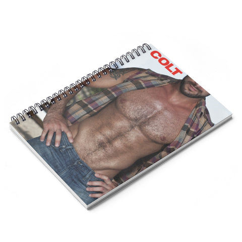 spencer reed hairy chest notebook main