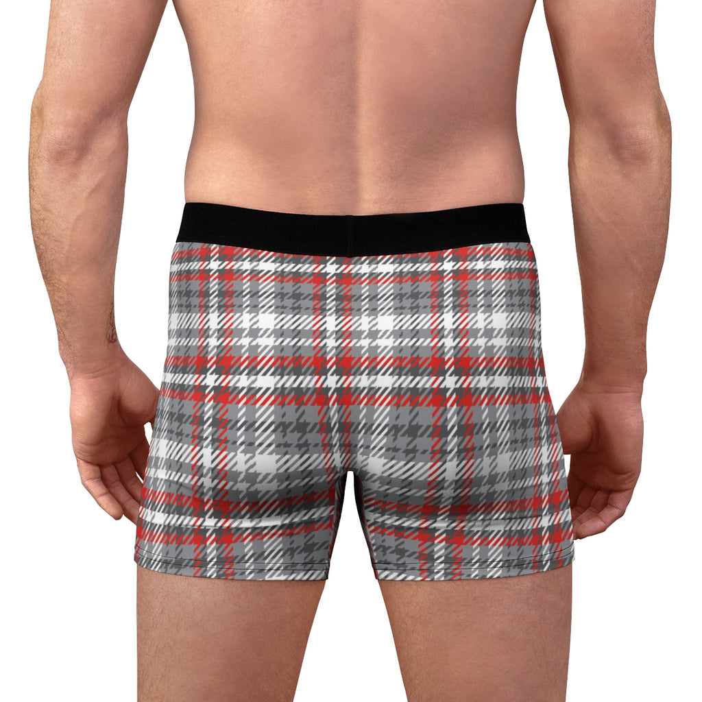 COLT Logo Grey Plaid Boxer Briefs