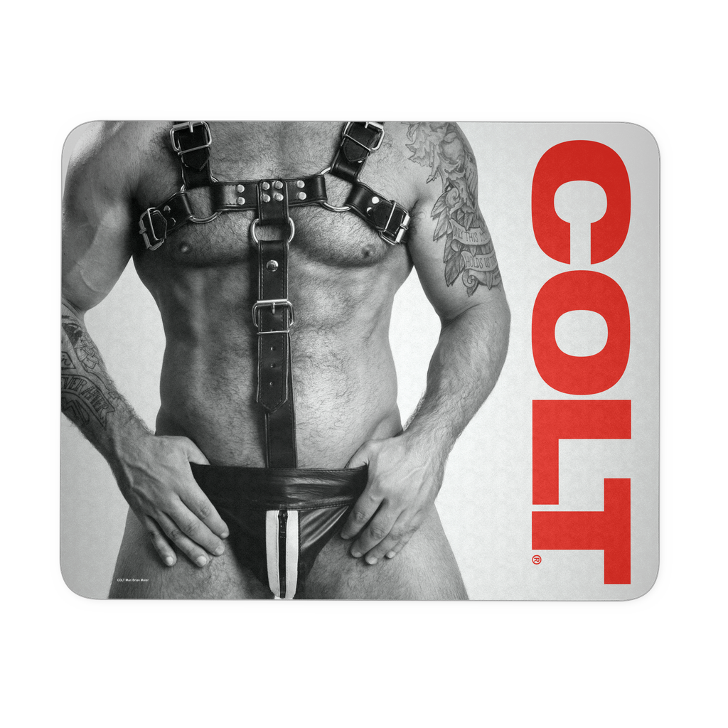 COLT Leather Man Mousepad