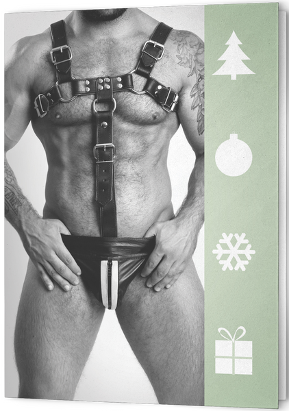 COLT Man Holiday Card - Leather