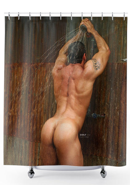 COLT Man Shower Curtain - Carlo Masi