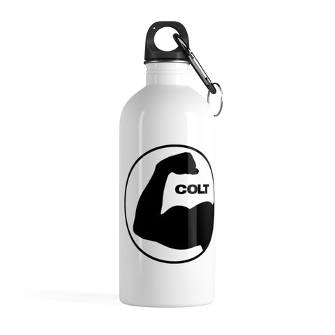 bicep logo water bottle main