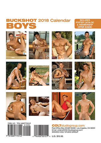 Buckshot Boys Digital 2018 Calendar