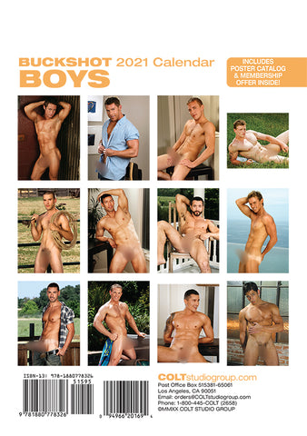 Digital Buckshot Boys 2021 Calendar